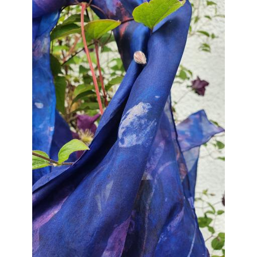 Hand dyed 100% Silk Scarves